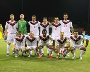 Canada's starting XI vs, Puerto Rico