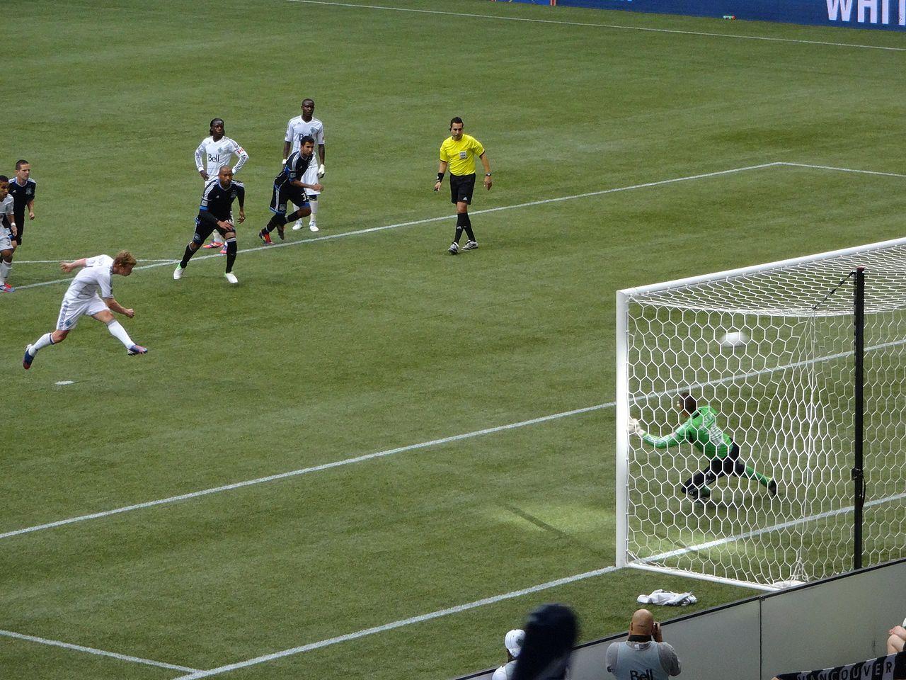 Barry Robson converts the penalty. PHOTO: MATT BOULTON