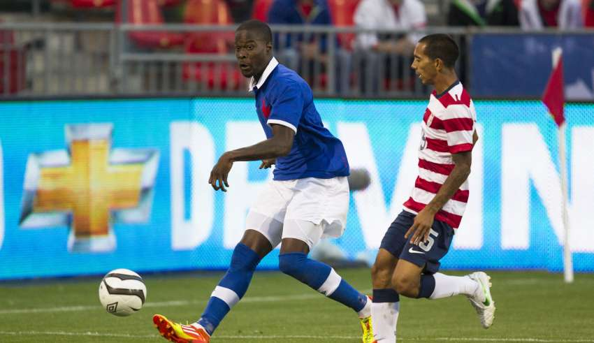 Tosaint Ricketts PHOTO: CANADA SOCCER/PAUL GIAMOU