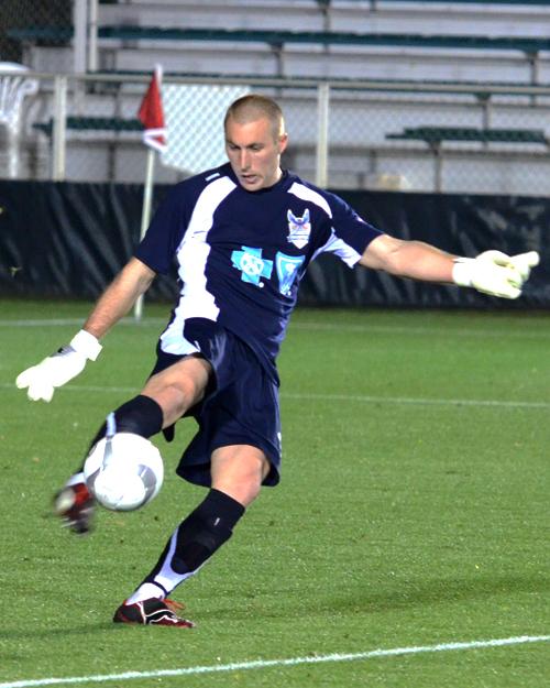 Brad Knighton played for Martin Rennie in Carolina. PHOTO: RKINNAN