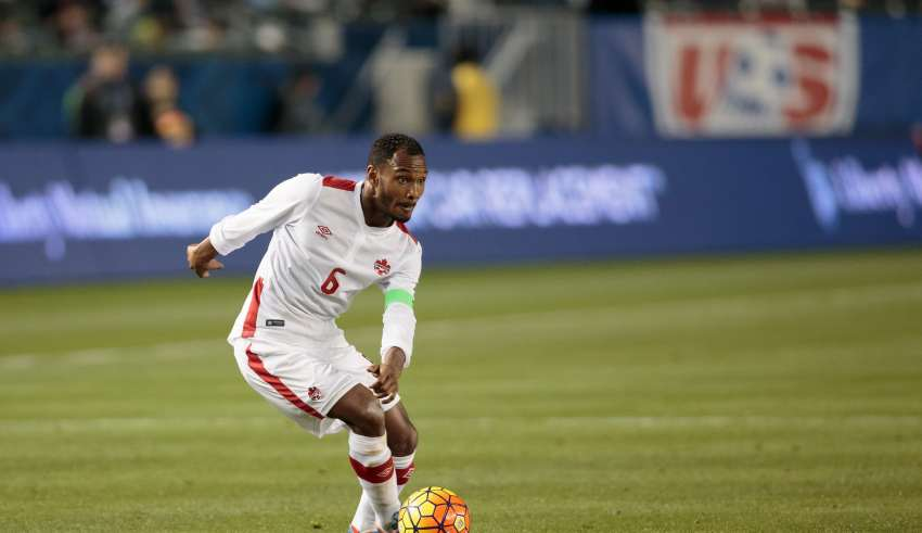 Ottawa Fury midfielder Julian de Guzman will be an action for Canada this week. PHOTO: CANADA SOCCER