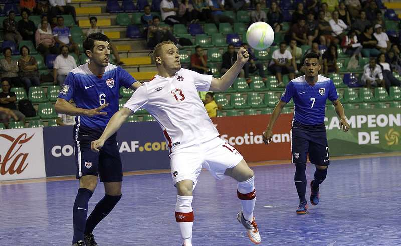 Robert Renaud in action against the United States.