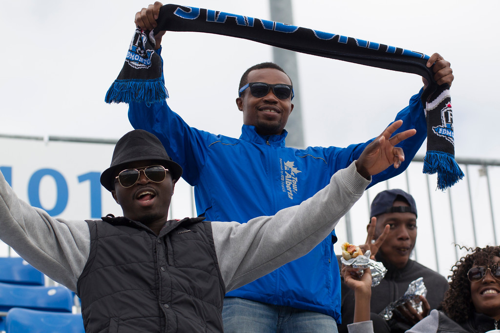 The supporters who come are fantastic; but more are needed. PHOTO: TONY LEWIS/FC EDMONTON