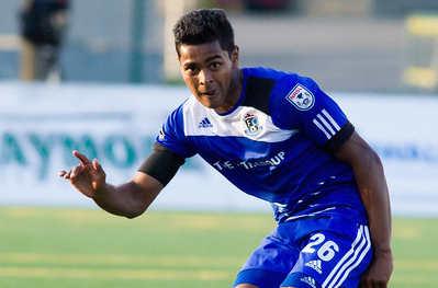 Shamit Shome PHOTO: TONY LEWIS/FC EDMONTON