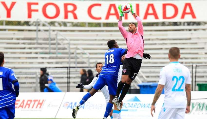 NASL Fall Season Vega Ameobi