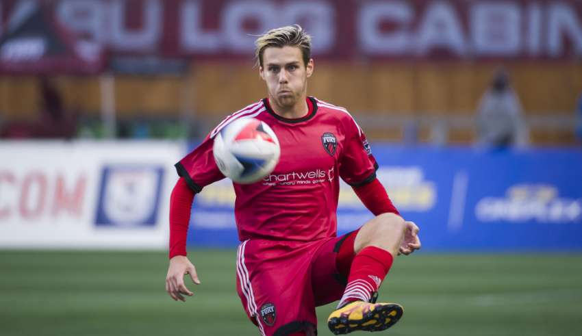 The Fury's Maxim Tissot. PHOTO: NASL