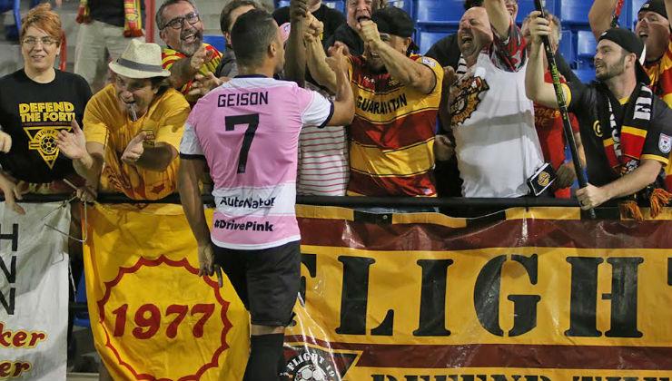 Geison Moura celebrates PHOTO:NASL